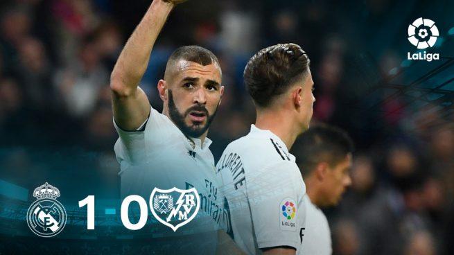 El Madrid gana con lo puesto