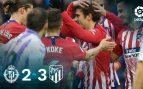 Griezmann saca al Atlético del VAR