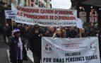 Los pensionistas de Valladolid reclaman una prestación mínima de 1.080 euros
