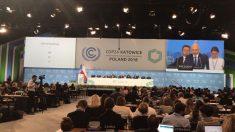 Cumbre de la ONU en Katowice.