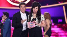 Mimi en la undécima gala de 'Tu cara me suena' (Antena 3)