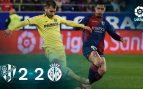Huesca – Villarreal: resumen, resultado y goles (2-2)