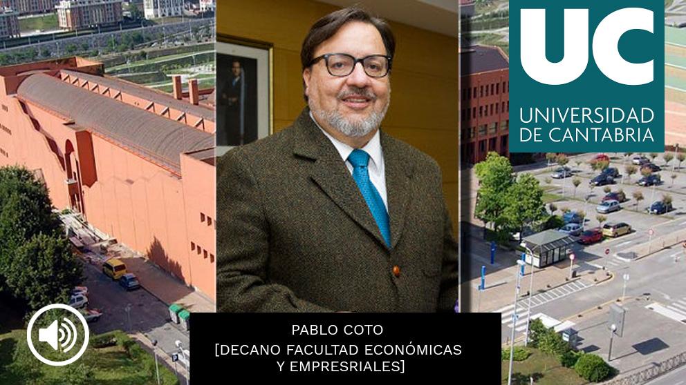 El decano de las firmas falsificadas de la Universidad de Cantabria, Pablo Coto Millán
