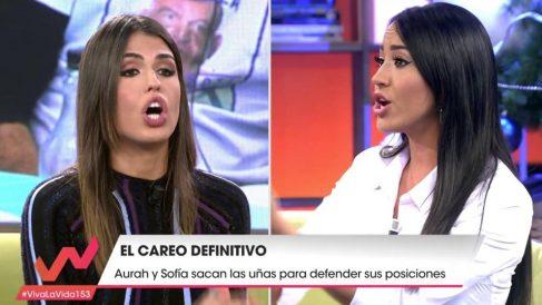 Sofía y Aurah han demostrado que no se llevan nada bien en 'Viva la vida'