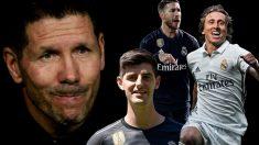 Simeone tiene harto al vestuario del Madrid.
