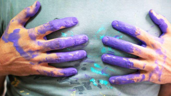 quitar manchas pintura ropa