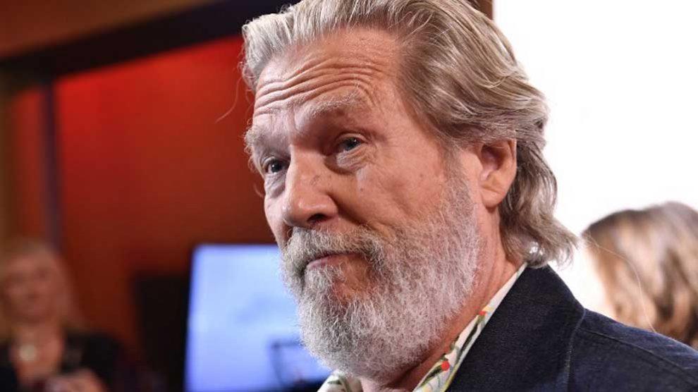 El reconocido actor Jeff Bridges. Foto: AFP