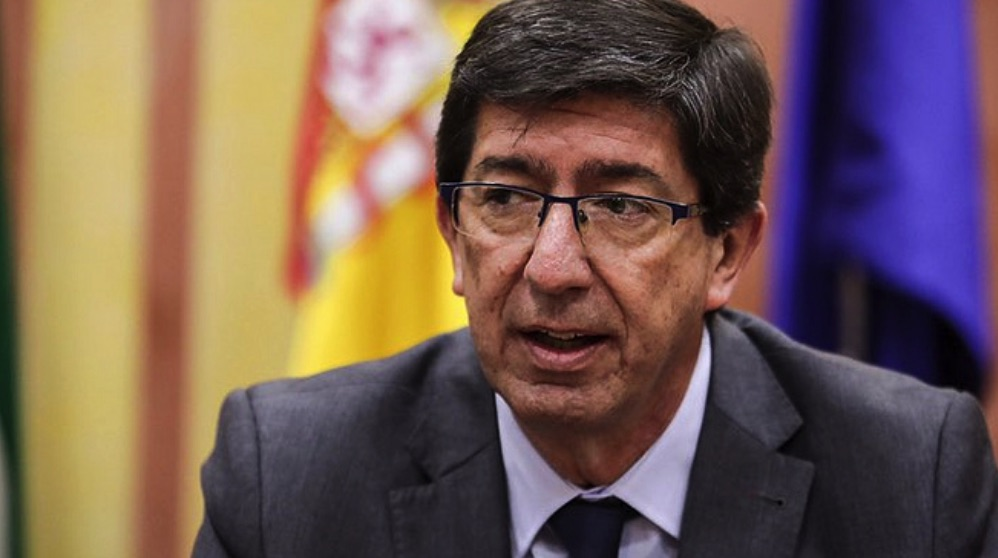 Juan Marín, vicepresidente de la Junta de Andalucía (Foto. Cs)