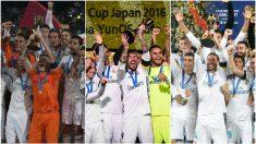 Las finales del Real Madrid en el Mundial de Clubes. (Getty)