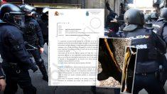 A diferencia de los Mossos, los antidistrubios de la Policía Nacional no tendrán chalecos antibalas asignados el 21D