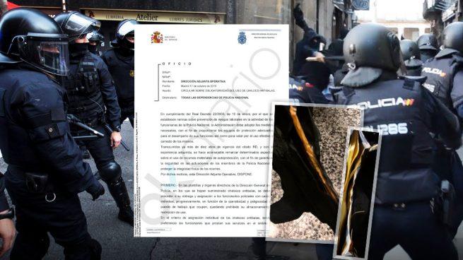 Los antidisturbios que blindarán a Sánchez en Barcelona no tienen asignados chalecos antibalas