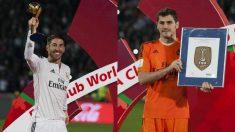 Sergio Ramos e Iker Casillas en el Mundial de Clubes