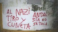 Las pintadas contra Morante de la Puebla por su apoyo a VOX
