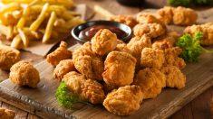 Receta de palomitas de pollo
