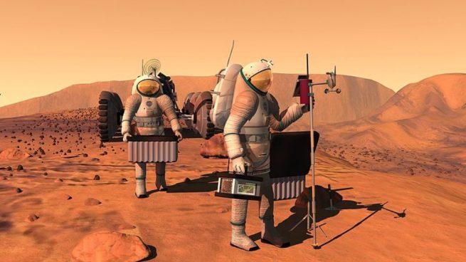 seres humanos que viajen a Marte reducirán su esperanza de vida