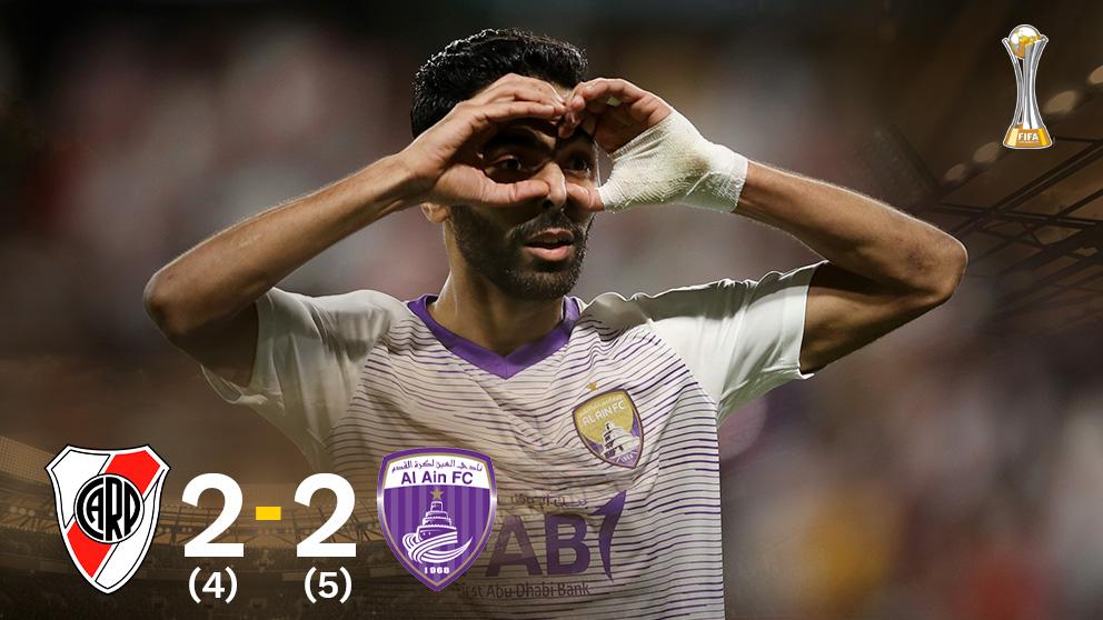 El Al Ain dio la sorpresa en el Mundial de Clubes.