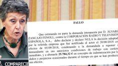 La justicia obliga Rosa María Mateo a indemnizar a Álvaro Zancajo.