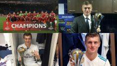 Toni Kroos podría ser el primer jugador de la historia que gana cinco Mundiales de Clubes.
