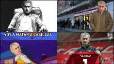 Los mejores memes de la destitución de Mourinho.