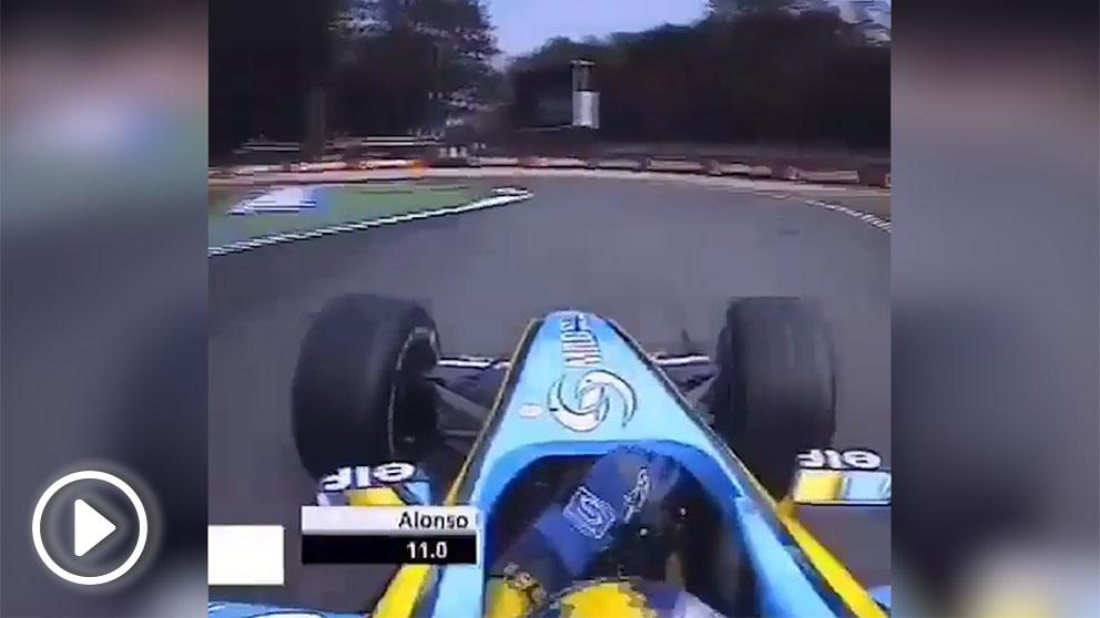 Vídeo de Fernando Alonso en la Fórmula 1