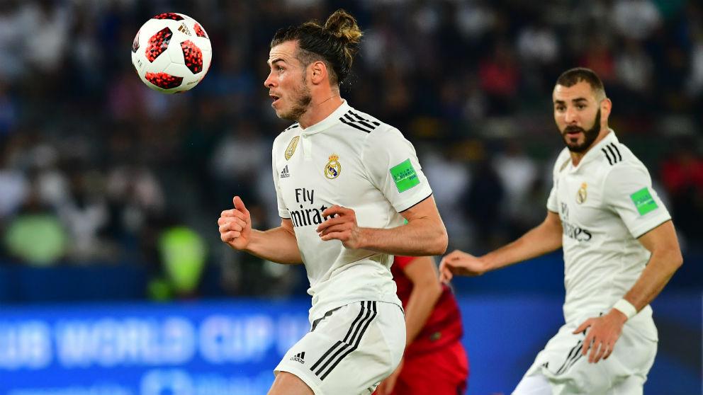 Bale, durante las semifinales del Mundial de Clubes. (AFP)