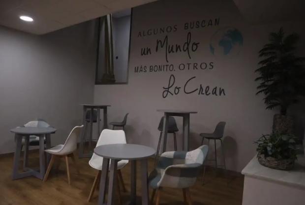 Imagen de uno de los espacios de la Fundación López Madriaga