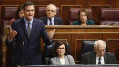 Pedro Sánchez en el Congreso. Foto: Europa Press