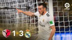 El Real Madrid venció al Kashima gracias a Bale.