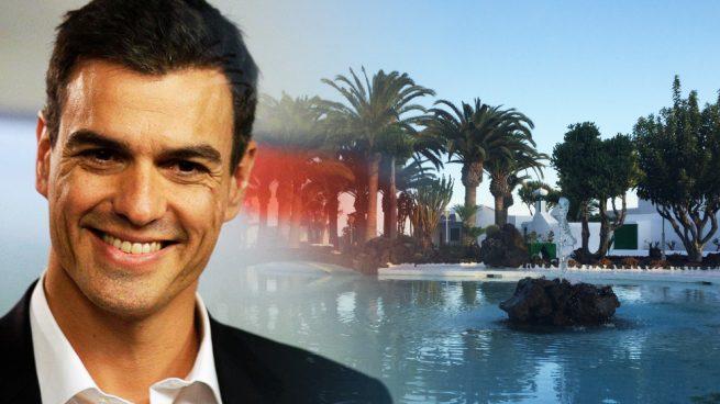 """Sánchez usará para sus vacaciones un palacio que el Rey cedió para """"los intereses turísticos de España"""""""
