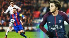 Rabiot se decanta por el Barcelona para jugar acompañado de Messi.