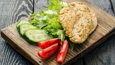 Receta de pollo a las finas hierbas