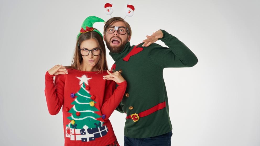 Conoce la curiosa tradición del Ugly Christmas Sweaters Day en Estados Unidos
