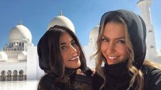Las novias de Mariano y Marcos Llorente, en Abu Dhabi. (instagram)