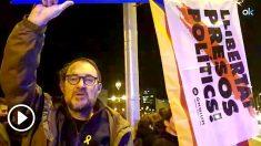 Un miembro de los CDR expresa su indignación por el fiasco de la protesta en Pedralbes. (Vídeo: Manolo Riera)