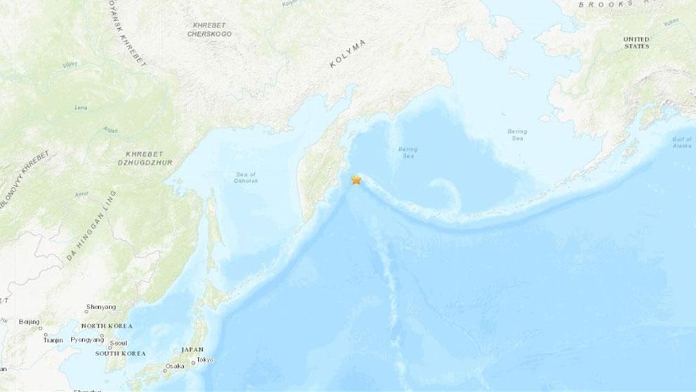 El extremo oriental de Rusia, la costa de Kamchatka, en alerta por riesgo de Tsunami tras un terremoto.