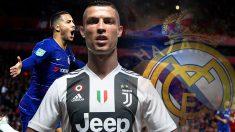 El dinero obtenido por la venta de Cristiano Ronaldo servirá para fichar a Hazard