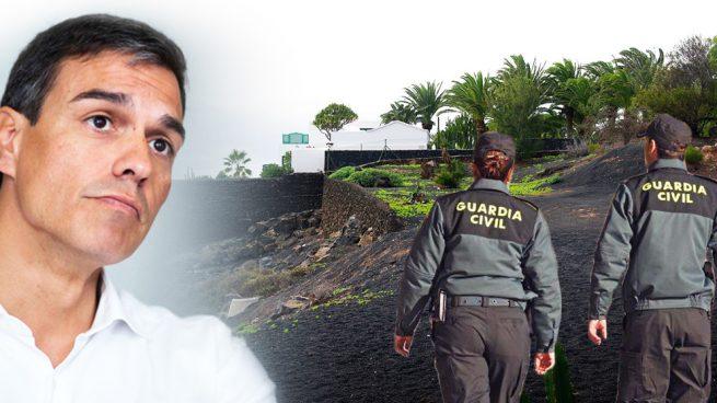 Doce guardias civiles con un 'plus' de 10 € en Nochevieja custodiarán a Sánchez en sus vacaciones