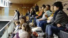 Madres navarras en el Parlamento. Foto: Europa Press