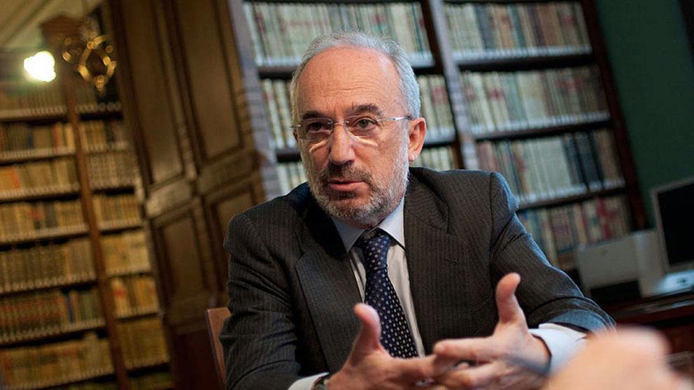 El nuevo director de la RAE, el jurista Santiago Muñoz Machado, uno de los grandes expertos en Derecho Internacional, Administrativo y Comunitario.