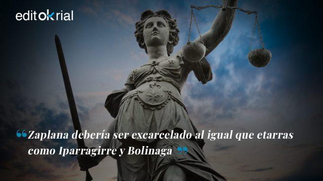La Justicia maltrata a Zaplana, pero cuida de los etarras
