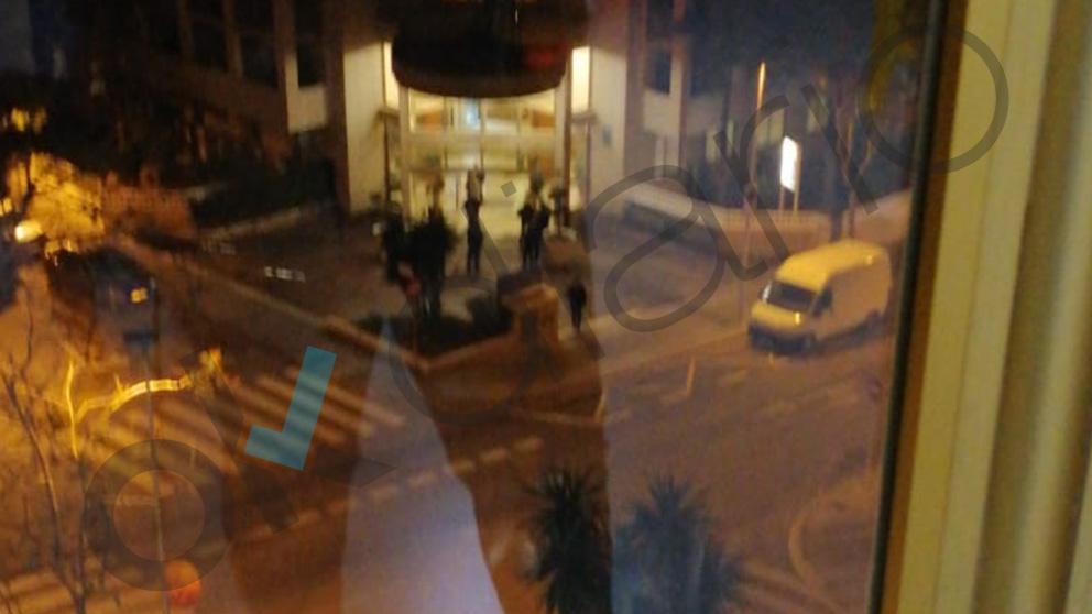 Policías Nacionales se alojan en Salou para el 21D