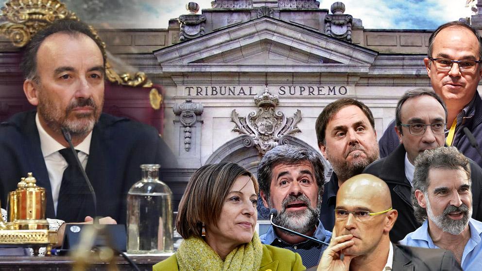 La Sala de lo Penal del Tribunal Supremo, presidida por el juez Marchena, se declara competente para juzgar a los golpistas catalanes por el 1-O
