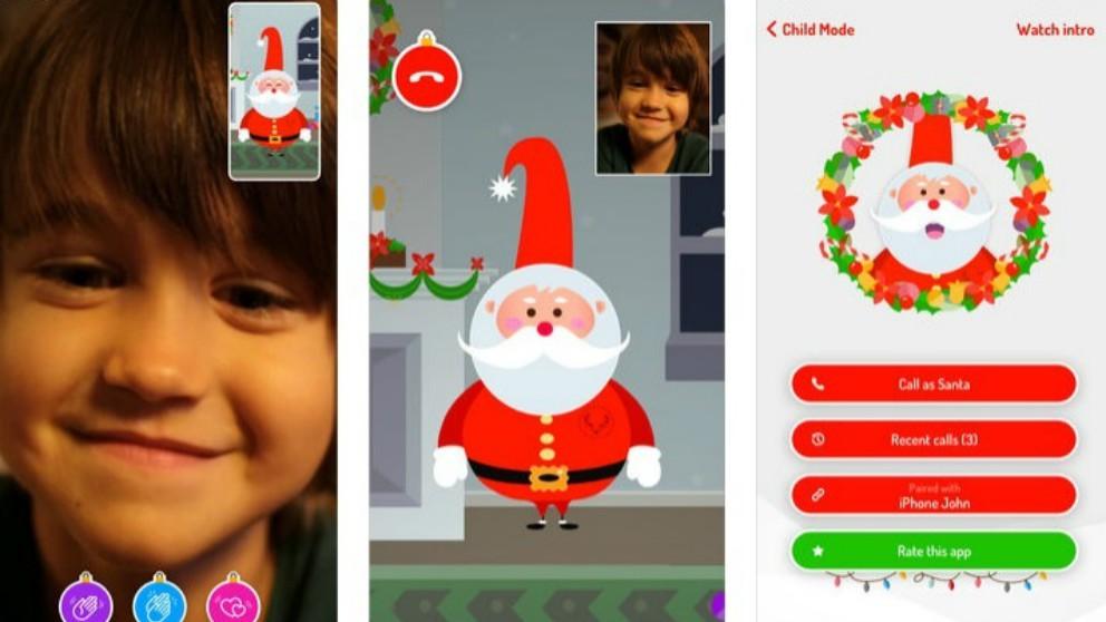 Xmas Time, la nueva app para que los niños hagan videoconferencias con Papá Noel
