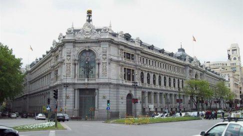 La sede del Banco de España en Madrid.