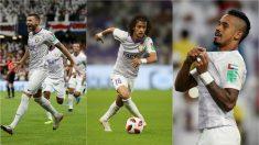 Marcus Berg, Mohamed Abdulrahman y Caio, las estrellas del Al-Ain.