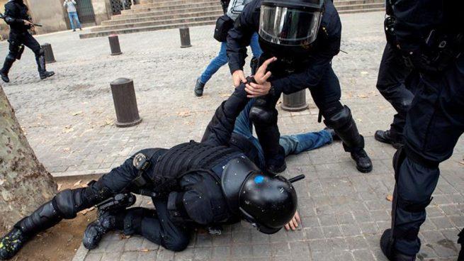 detenido-protestas-barcelona