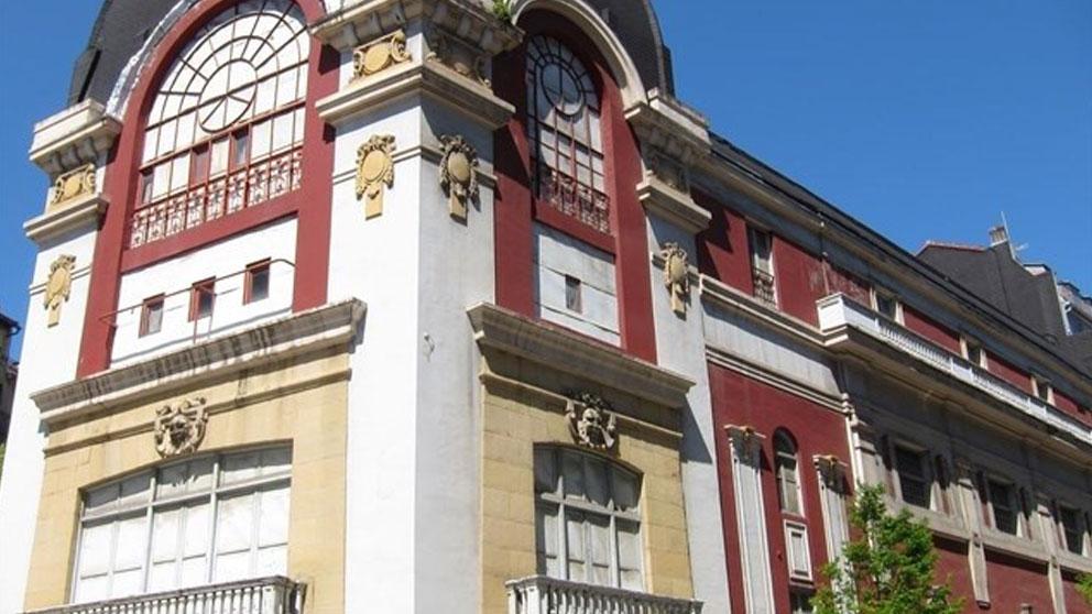 Edificio Bellas Artes de San SEbastián declarado en ruina. Foto: Europa Press
