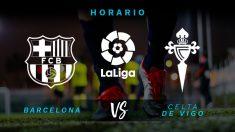 Liga Santander: Barcelona – Celta | Horario del partido de fútbol de Liga Santander.