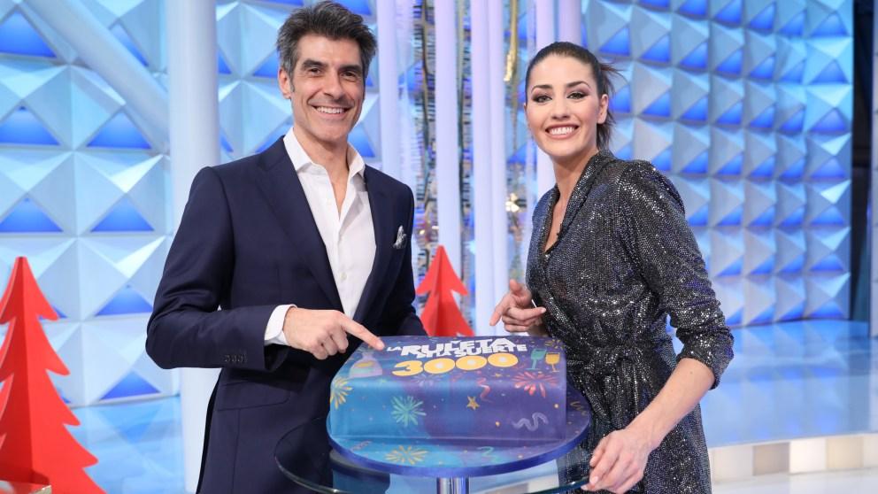 La ruleta de la suerte en Antena 3.