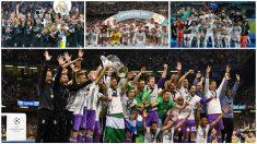 El Real Madrid suma 14 títulos desde 2014. (Getty)